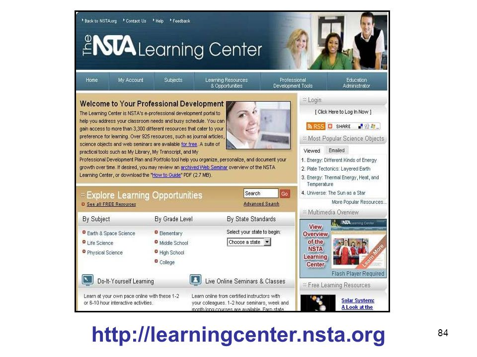 84 http://learningcenter.nsta.org