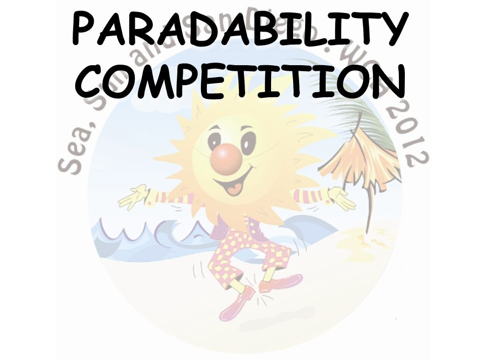 PARADABILITYCOMPETITION