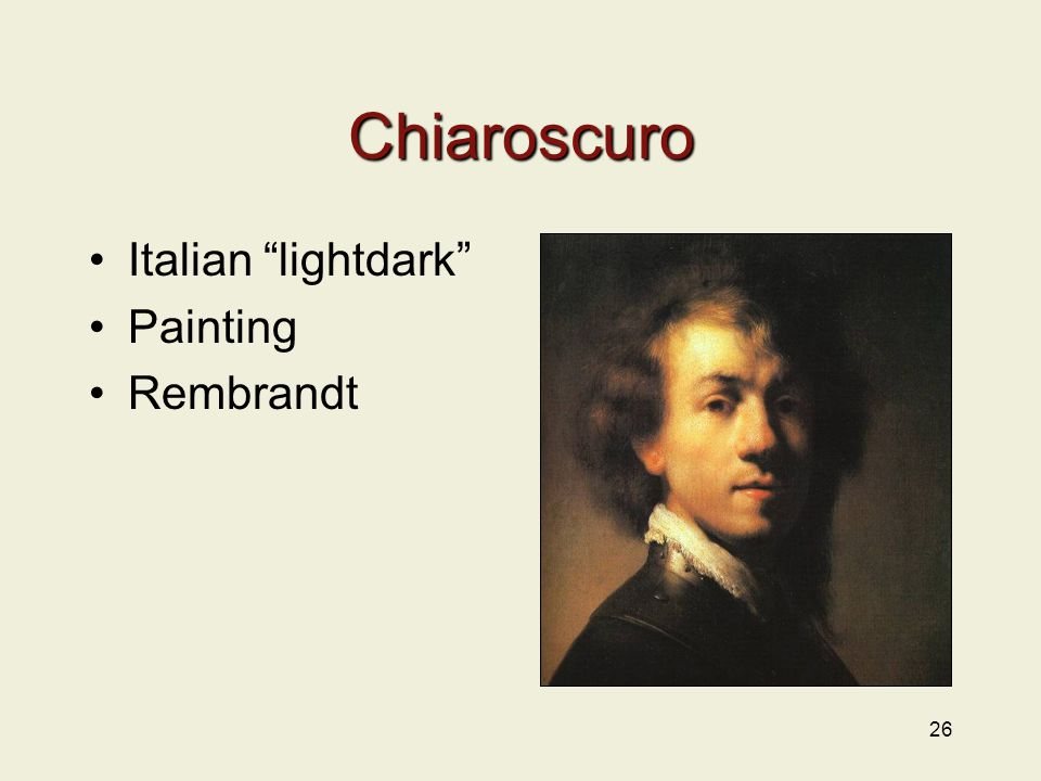 Chiaroscuro Italian lightdark Painting Rembrandt 26