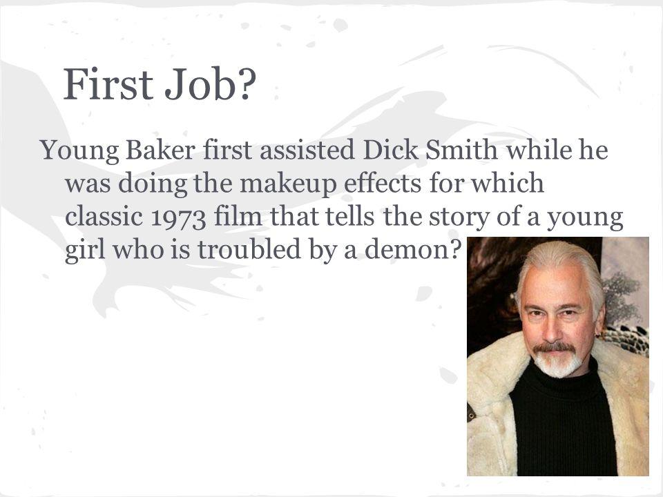 First Job.