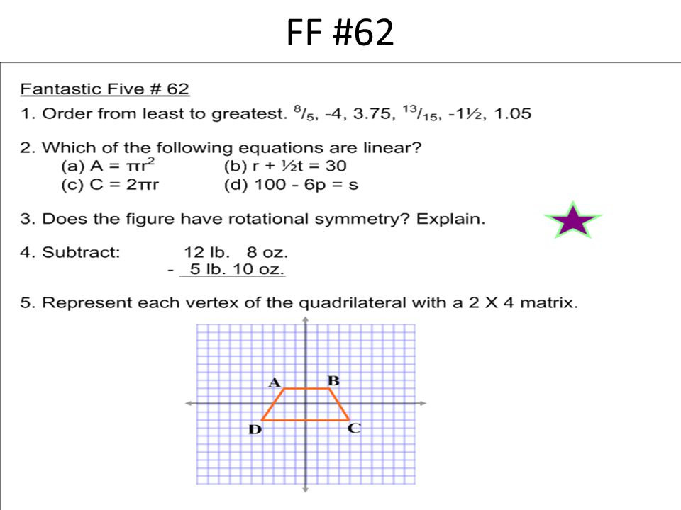 FF #62