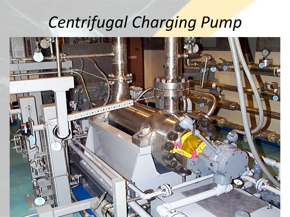Centrifugal Charging Pump 28