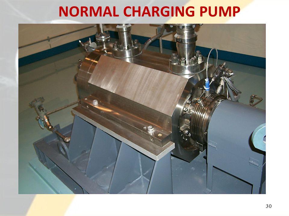 NORMAL CHARGING PUMP 30