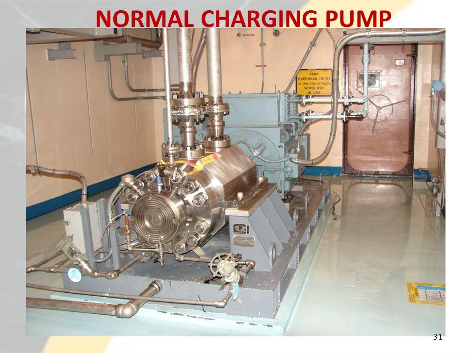 NORMAL CHARGING PUMP 31
