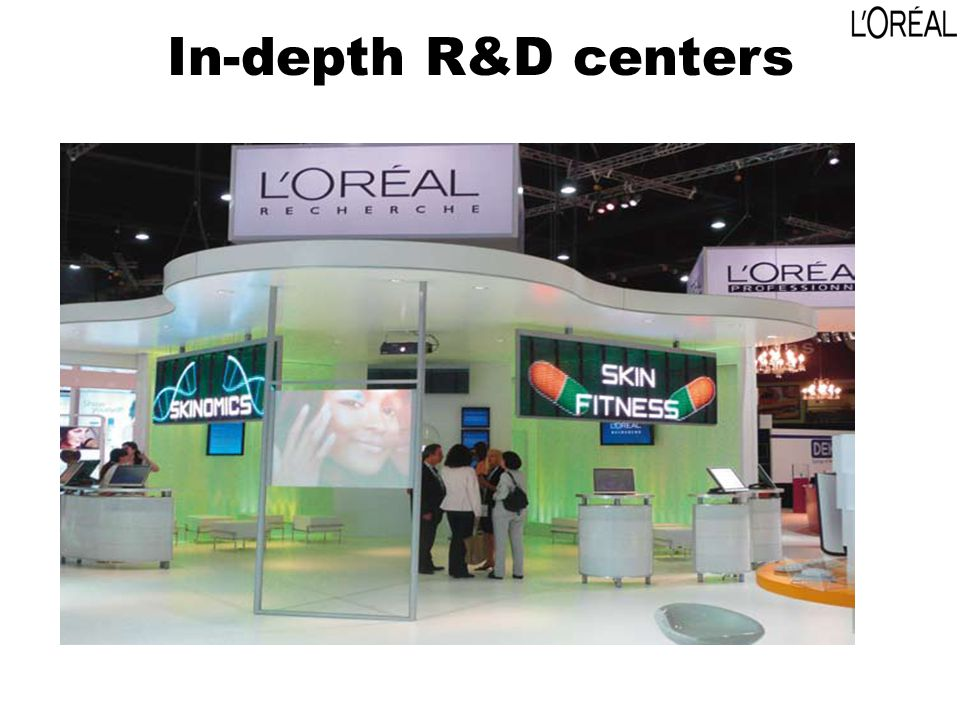In-depth R&D centers