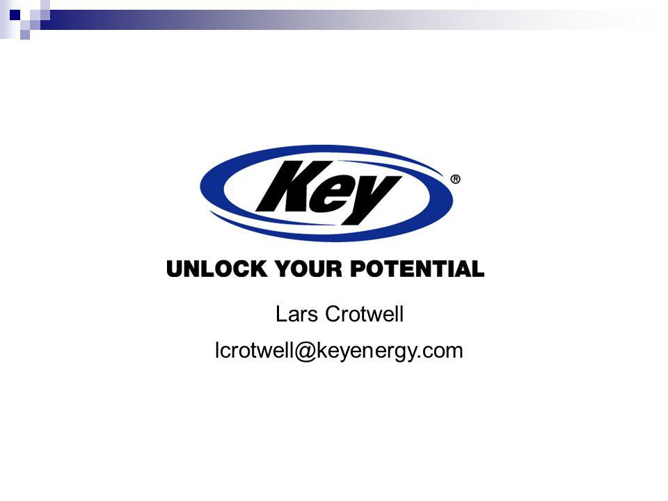Lars Crotwell lcrotwell@keyenergy.com