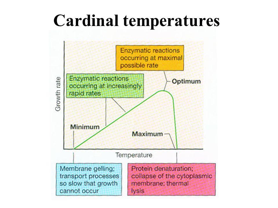 Cardinal temperatures