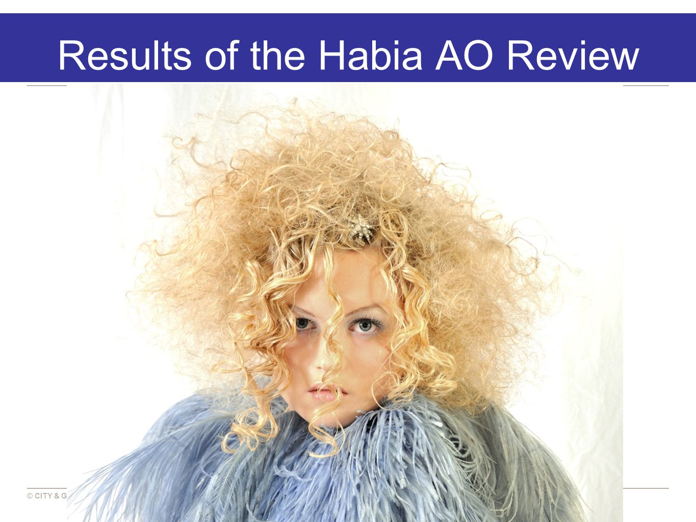 © CITY & GUILDS Results of the Habia AO Review