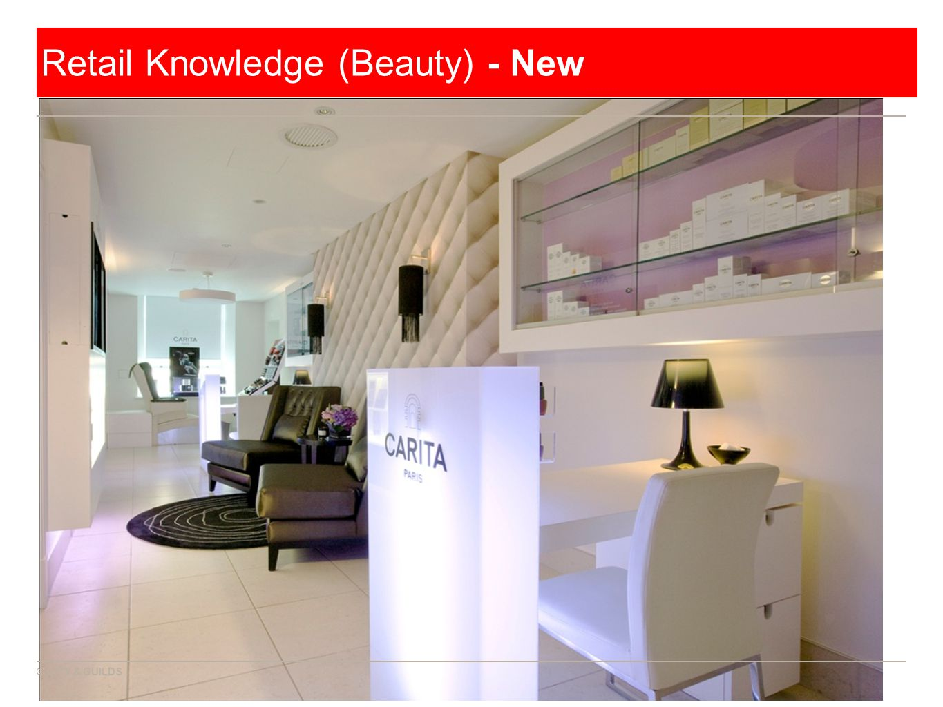 © CITY & GUILDS Retail Knowledge (Beauty) - New