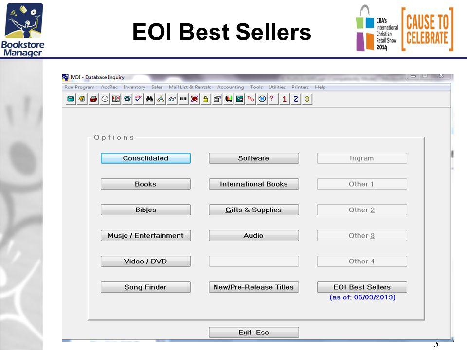 EOI Best Sellers 3