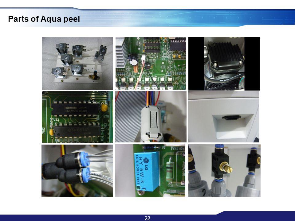 22 Parts of Aqua peel