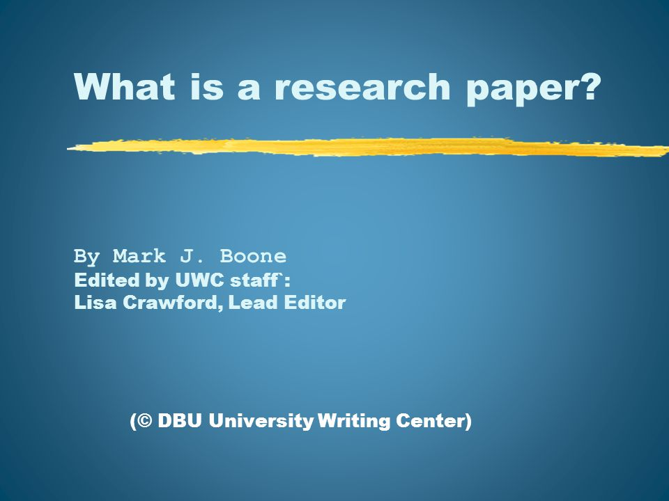 Contents I.The Basic Definition……………………slide 3 II.