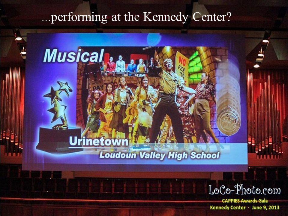 … building school buses? The Best School Year Ever … performing at the Kennedy Center?
