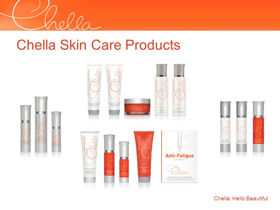 Chella: Hello Beautiful Chella Skin Care Products