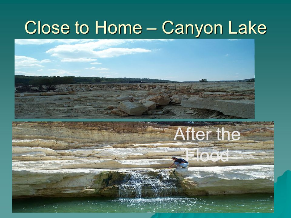 Close to Home – Canyon Lake After the Flood