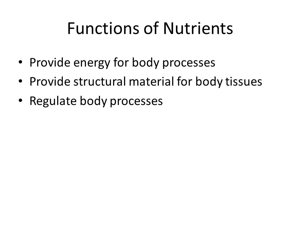 Definitions Nutrition= Sum of all the interactions between an organism and the food it consumes. Nutrients= organic and inorganic substances found in
