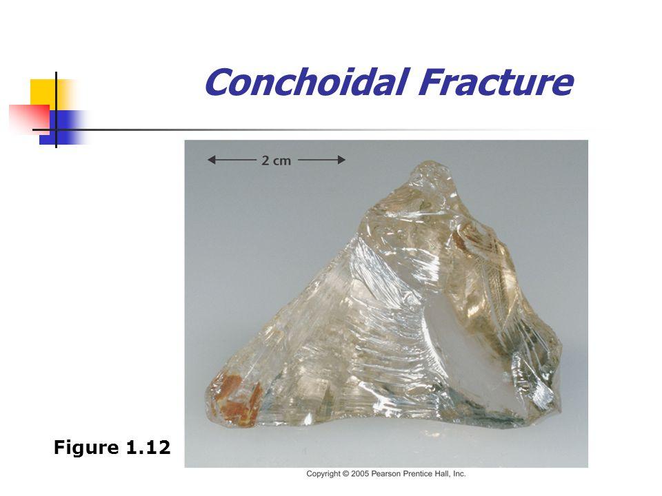 Conchoidal Fracture Figure 1.12
