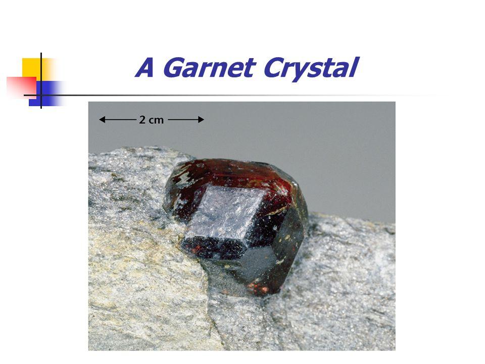 A Garnet Crystal