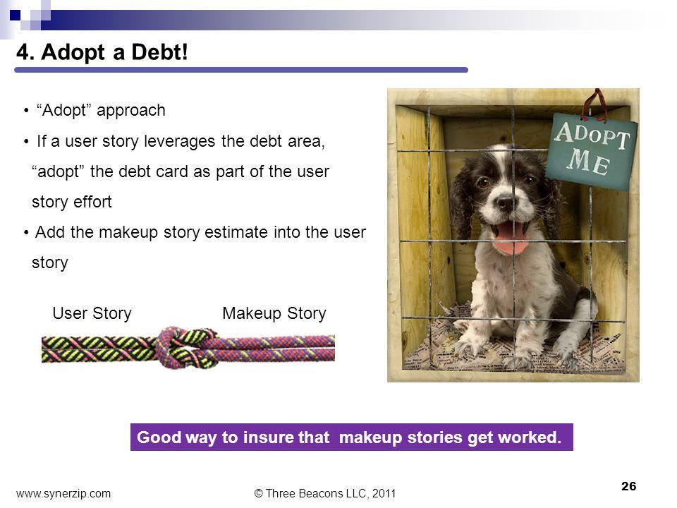 4. Adopt a Debt.