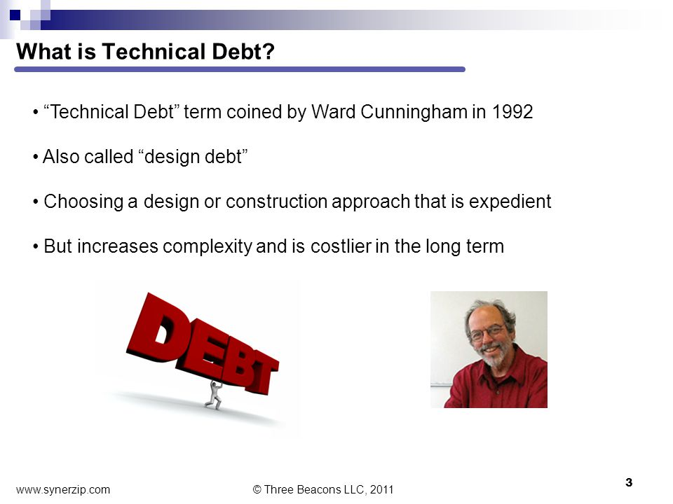 What is Technical Debt.