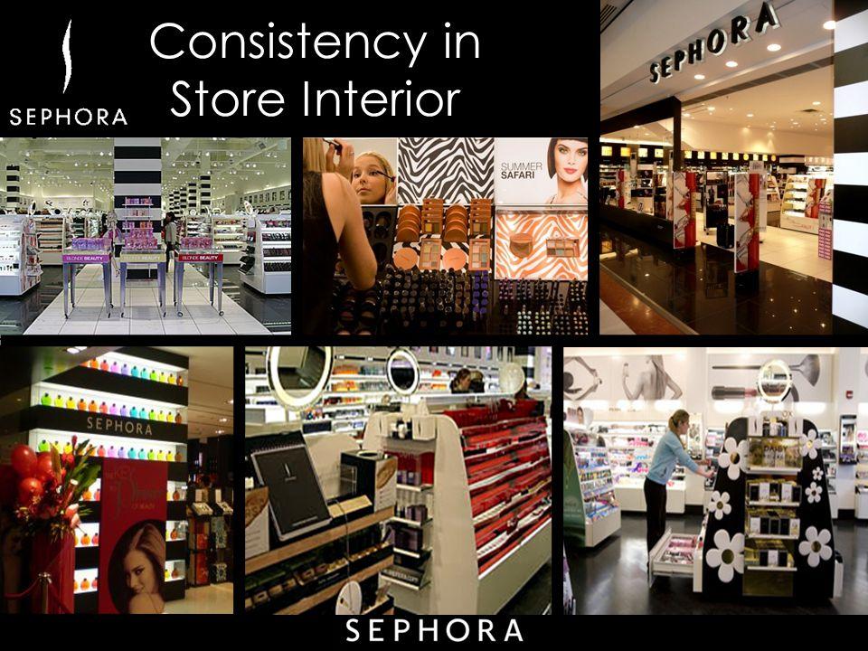 Consistency in Store Interior