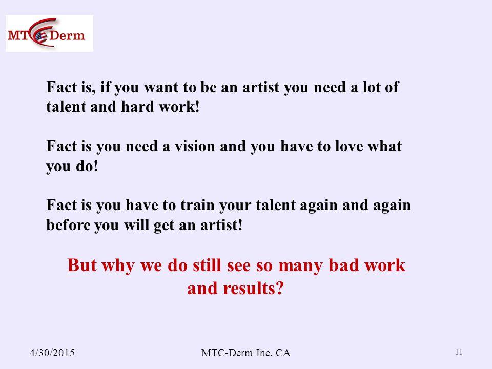 4/30/2015MTC-Derm Inc.