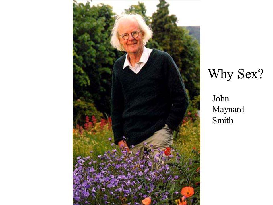 John Maynard Smith Why Sex?