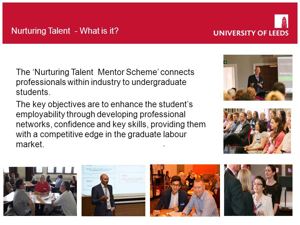 Nurturing Talent - What is it.
