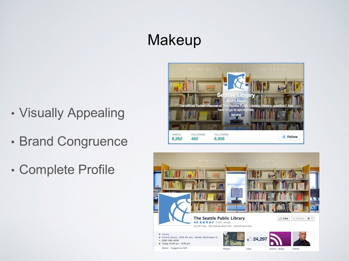 Makeup Visually Appealing Brand Congruence Complete Profile
