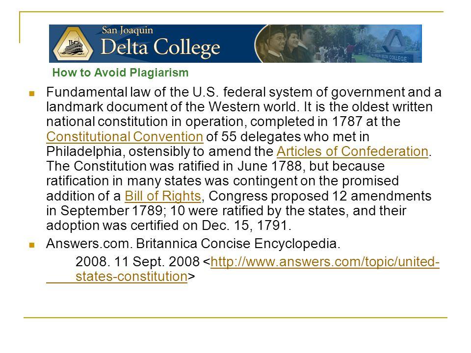 Fundamental law of the U.S.