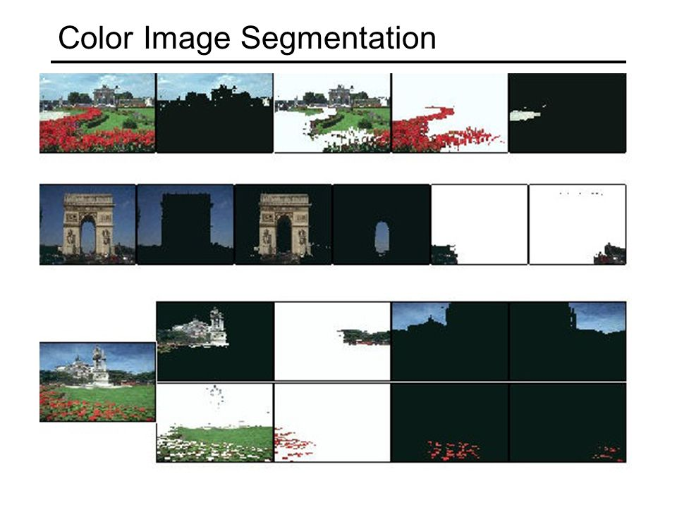 Extension to Soft Segmentation Each pixel is convex combination of segments.