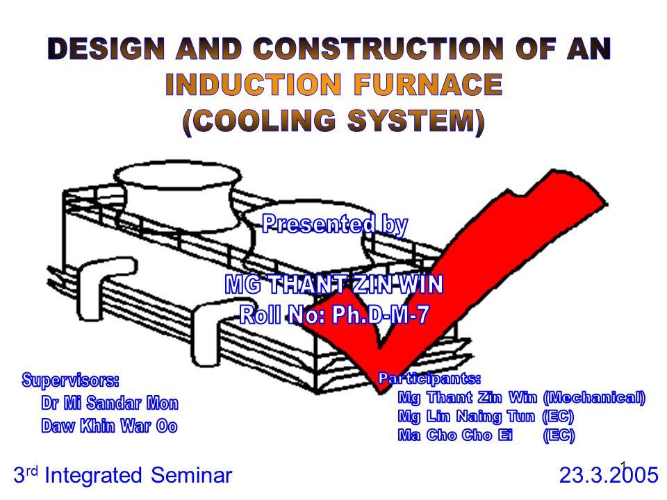 1 3 rd Integrated Seminar 23.3.2005