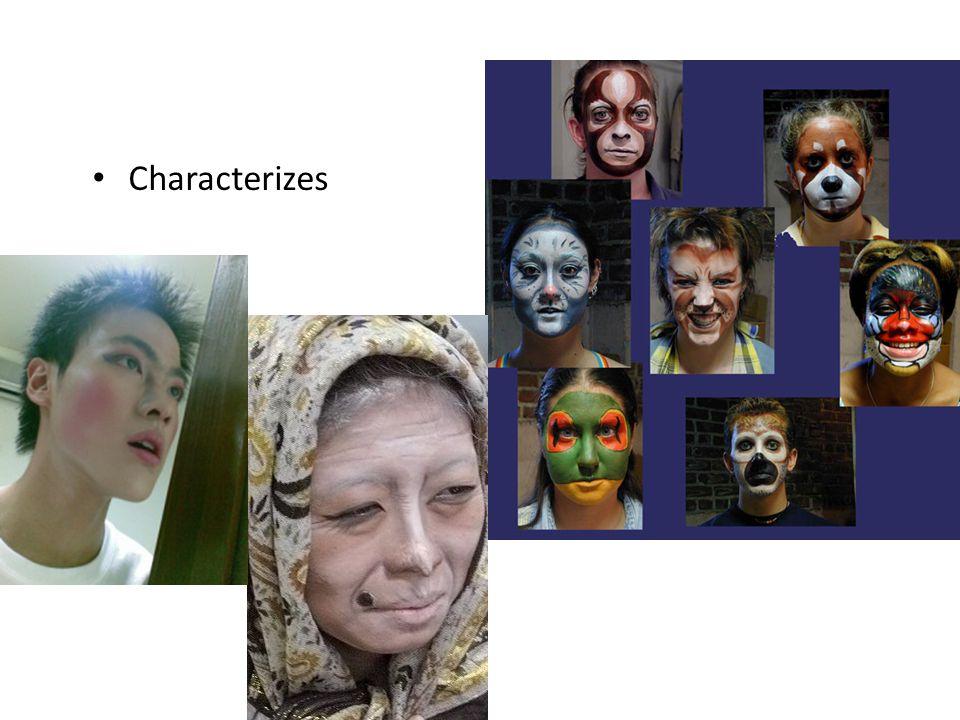 Characterizes