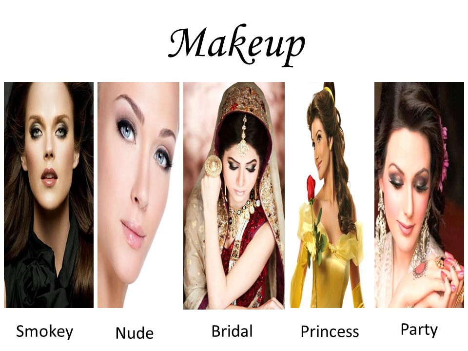 Makeup Smokey Nude Bridal Princess Party