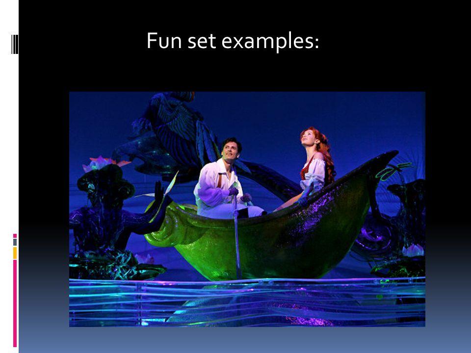 Fun set examples: