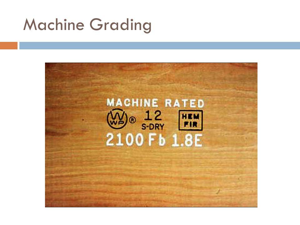 Machine Grading
