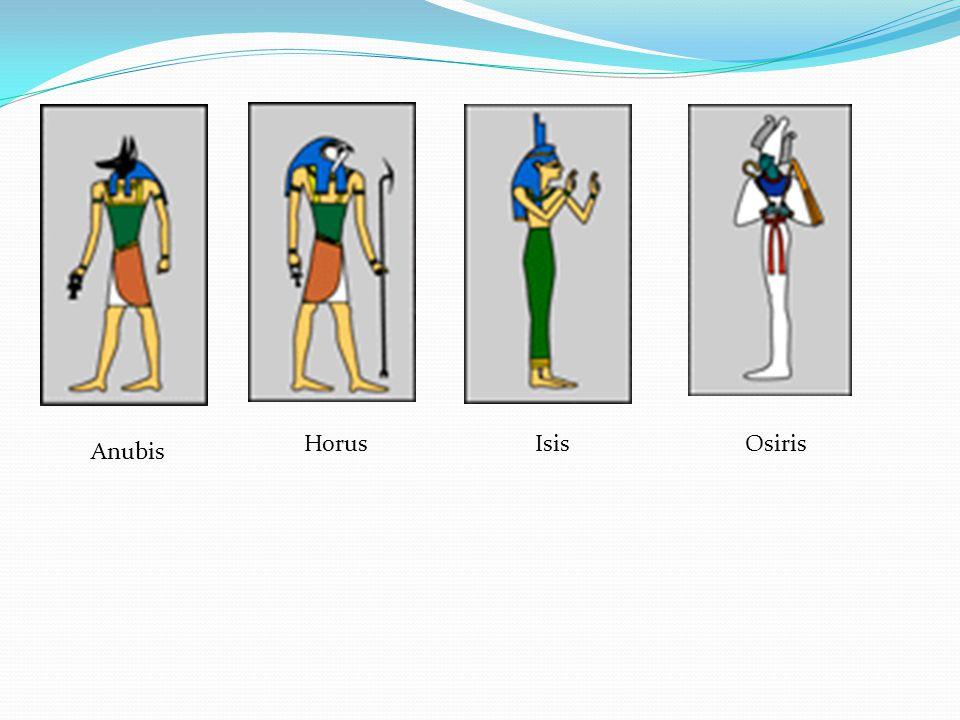 Anubis HorusIsisOsiris