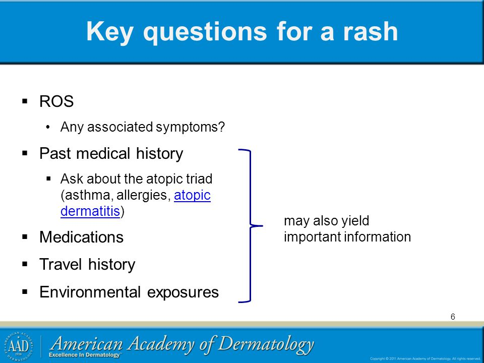 Key questions for a growth  How long has the lesion been present.