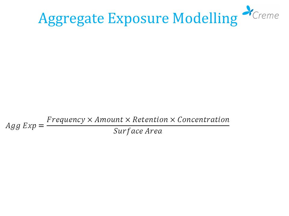 Aggregate Exposure Modelling