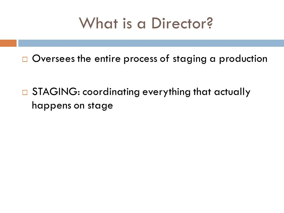 What is a Director.