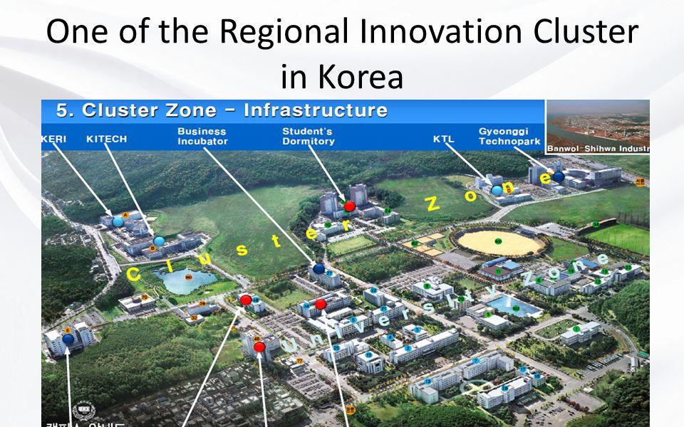One of the Regional Innovation Cluster in Korea Mahmut Kiper