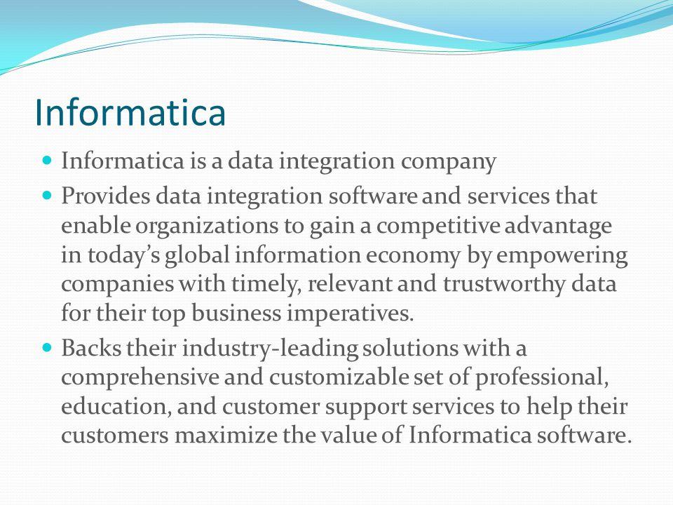 Informatica Retailers are struggling in today's tough economic environment.