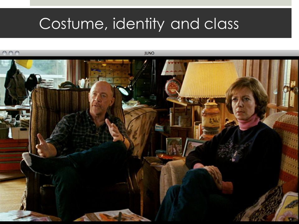 Costume, identity and class