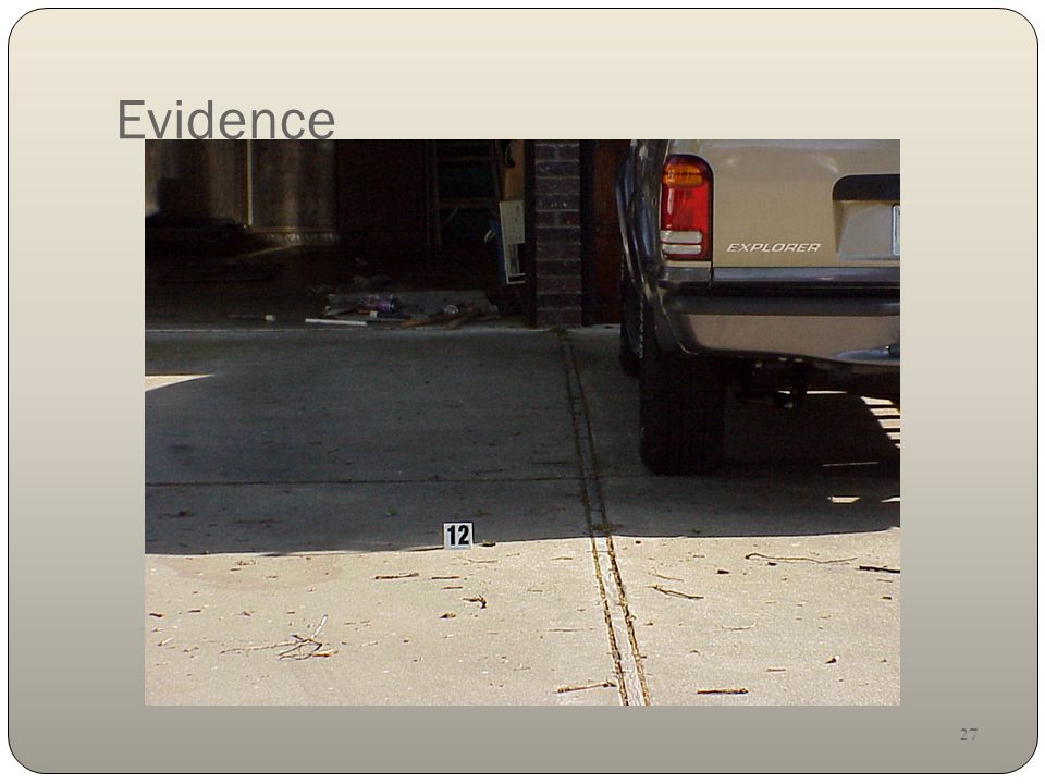 27 Evidence