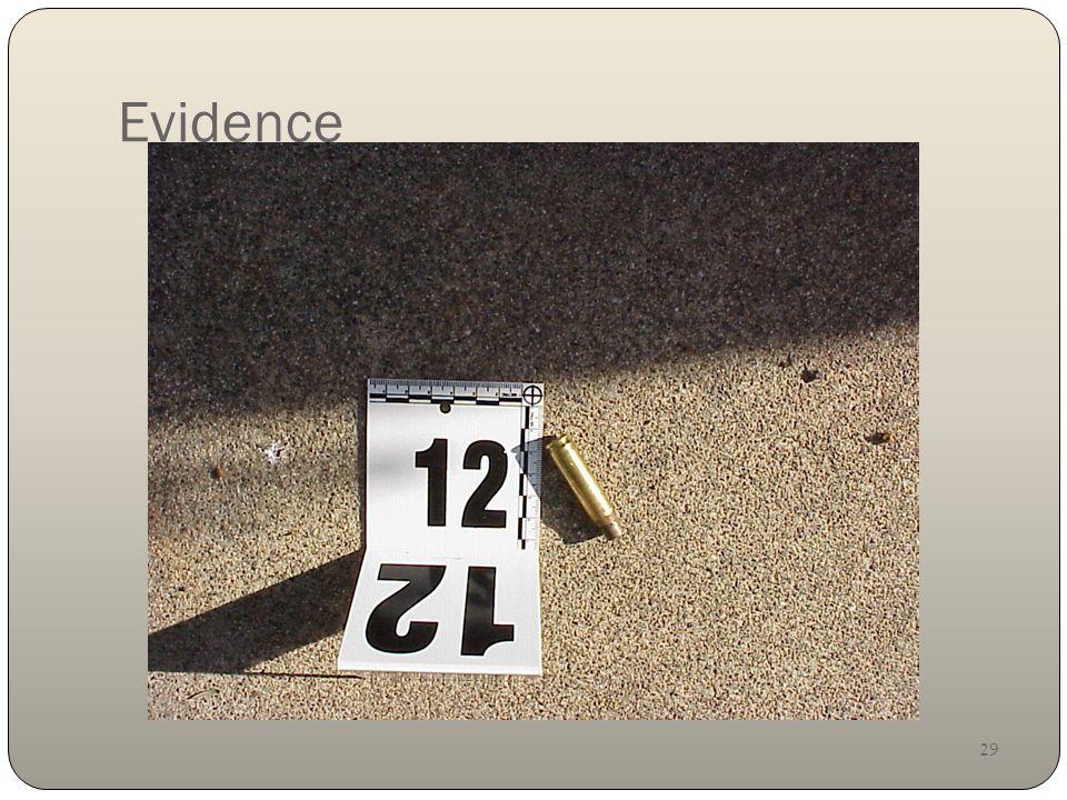 29 Evidence