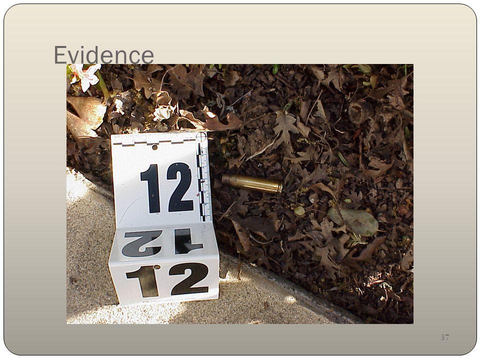 37 Evidence