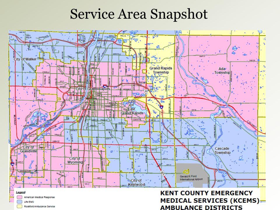Service Area Snapshot