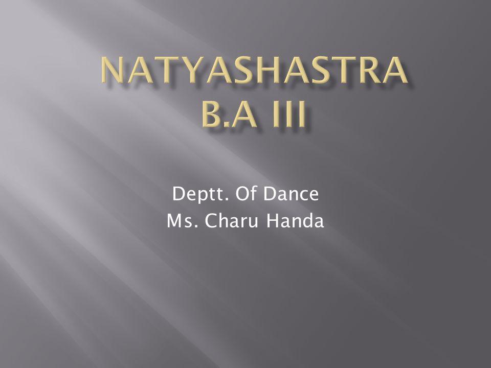 Deptt. Of Dance Ms. Charu Handa