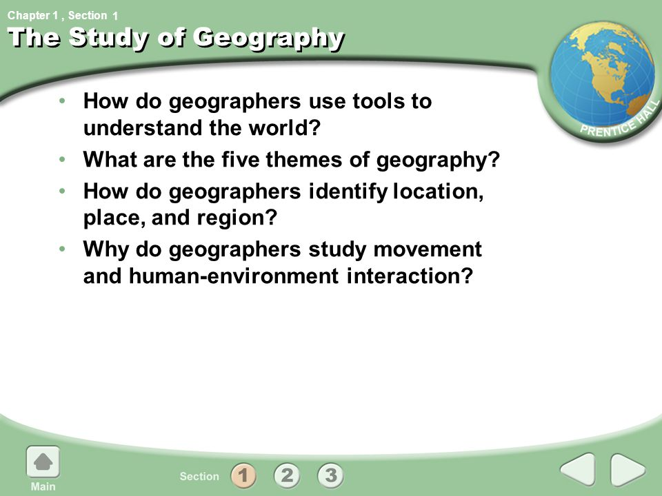 Chapter 1, Section Geographic Tools 1