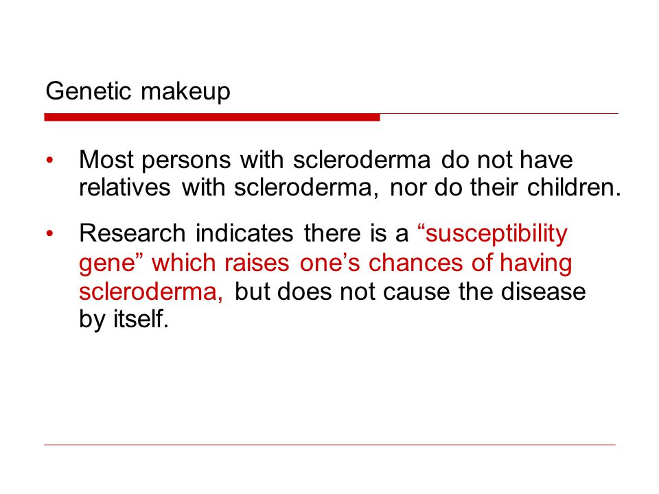 Linear scleroderma is characterized by a single line or band of thickened or abnormally colored skin.